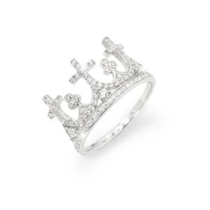 le-fate-argentate-gioielleria-bigiotteria-biella-anello-donna-corona-zirconi-amen