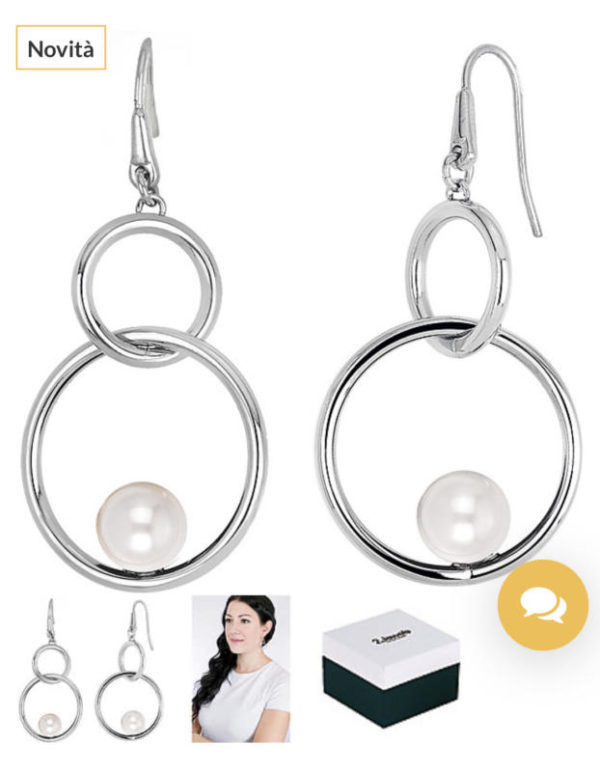 orecchini donna gioielli 2Jewels Pearl Planet