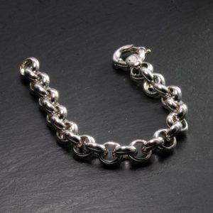 Bracciale rollo' in argento