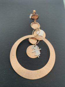 Mono orecchino in argento